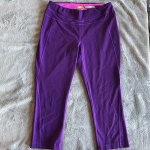 Lucy Powermax Hatha Collection Capris Crops